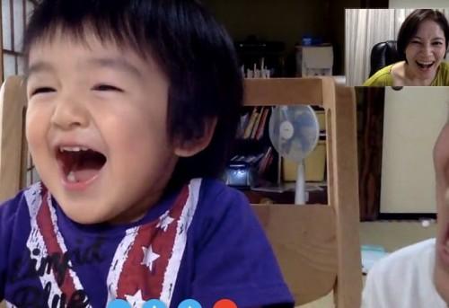 Skype親子英語レッスン